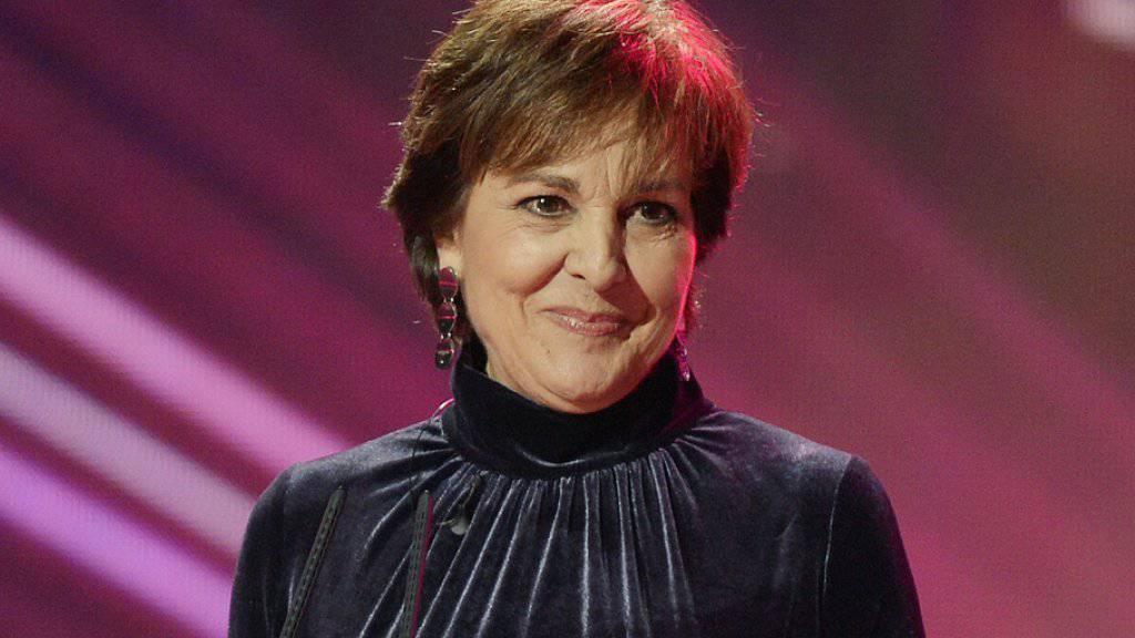 TV-Legende Paola Felix - hier an der diesjährigen «SwissAward»-Galashow - hat morgen Samstag einen TV-Auftritt. Es bleibe eine Ausnahme, sagt sie, ein Comeback werde es nie geben (Archiv).