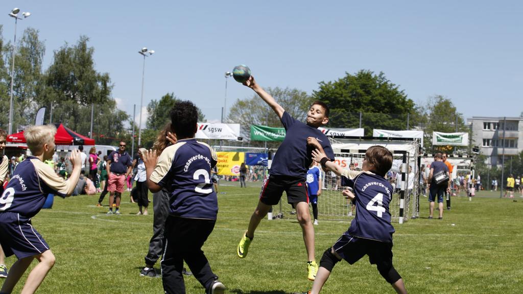 Grösstes Handballturnier der Schweiz