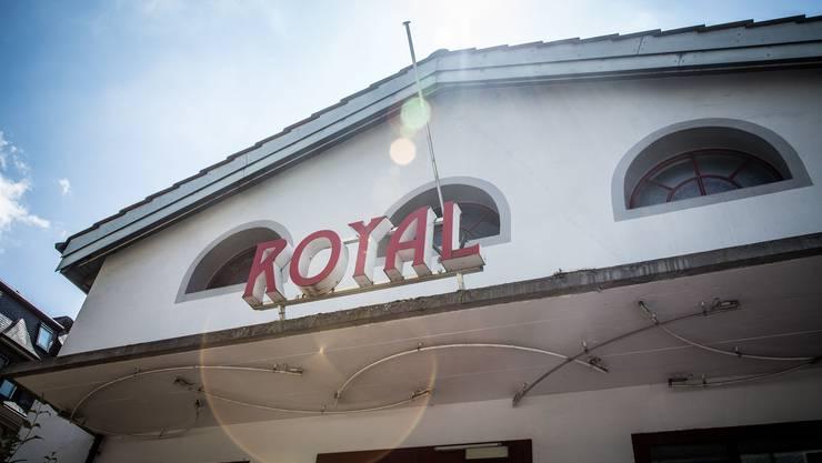 Der Name Royal erinnert auch an die früheren Zeiten als ältestes Badener Kinohaus