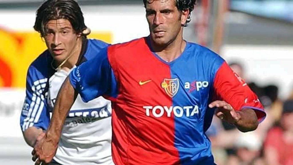 Ex-FCB-Spieler Antonio Esposito steht heute als TV-Experte im Einsatz.