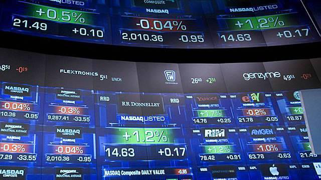 Wall Street im Plus (Archiv)