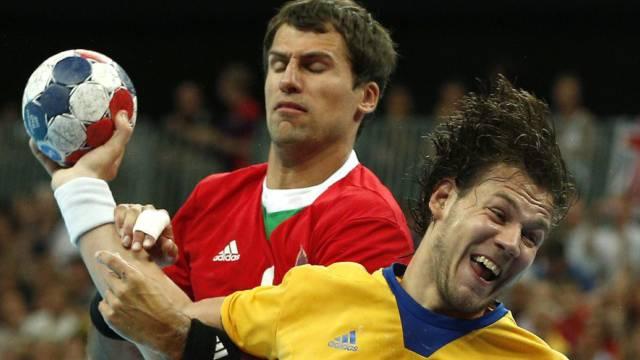 Der Schwede Andreas Nilsson (r.) im Duell mit Tamas Mocsai.