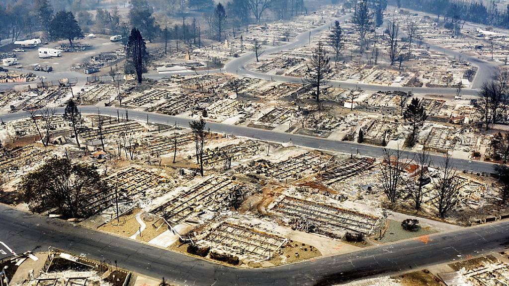 Grossbrände im US-Westen toben weiter - Feuer bedroht Observatorium