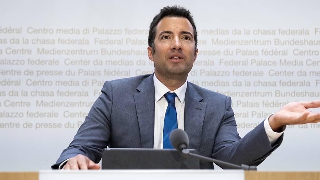 Der Ausserrhoder FDP-Ständerat Andrea Caroni ist Präsident der parlamentarischen Gerichtskommission. Das Gremium konnte bisher keine geeigneten Kandidierenden für die Nachfolge von alt Bundesanwalt Michael Lauber finden. (Archivbild)
