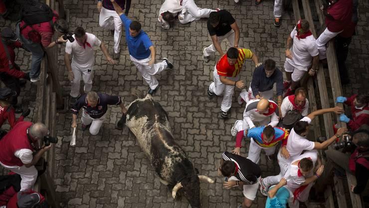 Das San-Fermin-Fest ist nach dem Schutzheiligen der Stadt benannt.