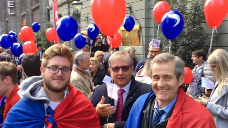 Die Tessiner Delegation freut sich über die Wahl von Ignazio Cassis.