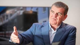 Von 18 auf 10900 Mitarbeiter in 30 Jahren: Peter Spuhler kämpft dafür, dass Stadler weiterhin eine Patron- und keine Konzern-Kultur lebt.