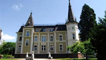 Ein stattliches Anwesen: Das Schloss ist auch bekannt als «Villa Zuberbühler» oder «Villa Himmelrych».