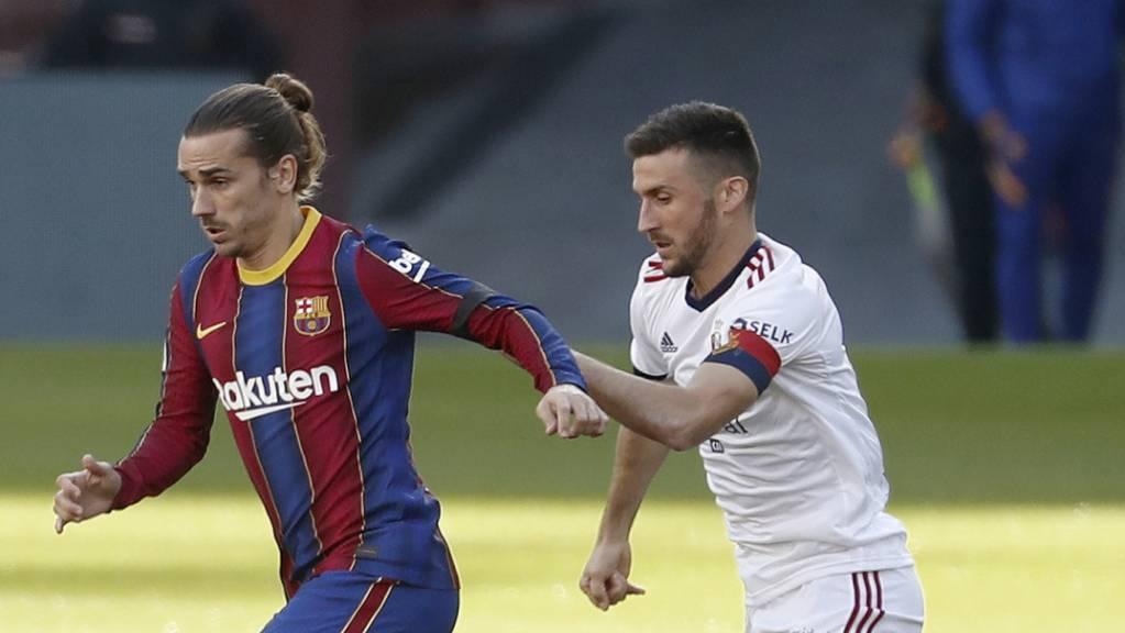 Antoine Griezmann überzeugte gegen Osasuna