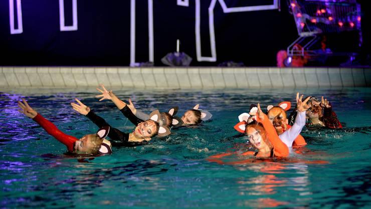 Die Synchro Show des Schwimmclubs gehört fix in die Solothurner Adventsagenda.