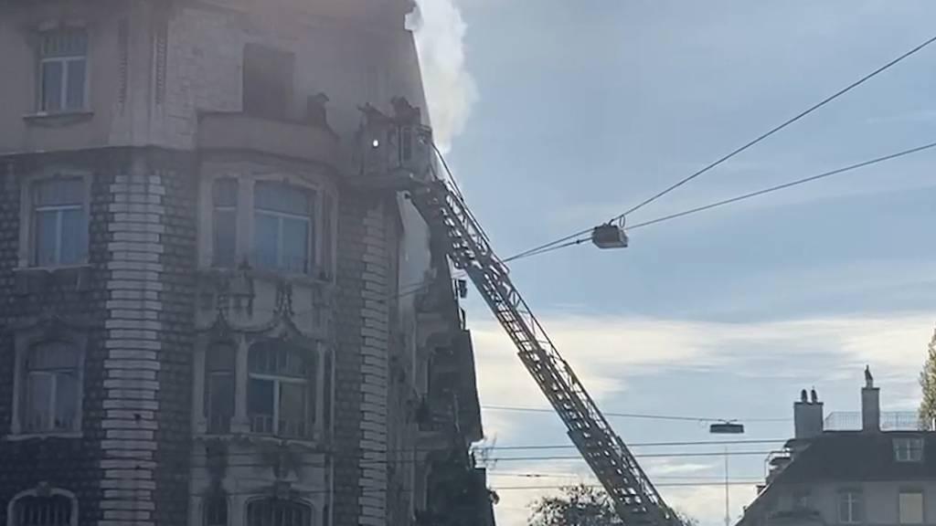 Feuer im Kreis 5: Brand fordert ein Todesopfer und mehrere Verletzte