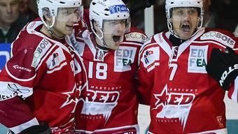 Red Ice Martigny macht einen Rang gut.