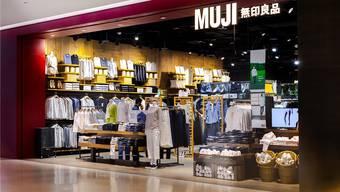 So sieht ein Muji-Shop in Bangkok aus: Im Zürcher Einkaufszentrum Glatt eröffnet im Herbst 2019 die erste Schweizer Filiale auf rund 1000 Quadratmetern. Shutterstock