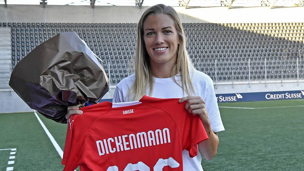 Lara Dickenmann absolvierte für die Schweiz 135 Länderspiele.