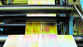 Telefonbücher, Briefmarken und das Magazin «Via» werden in Deutschland gedruckt.