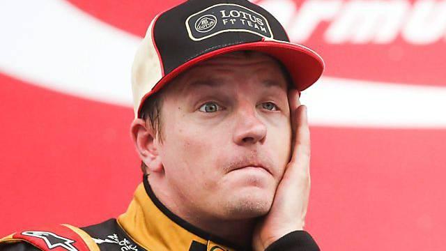 Fehlt möglicherweise an den letzten beiden GP: Kimi Räikkönen