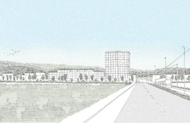 wachsen bald vier neue Gebäude.