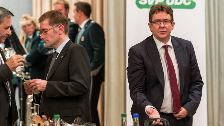 SVP-Ständerat Germann über Albert Rösti: «Er ist nicht der volkstümliche Typ wie Toni Brunner.» Keystone