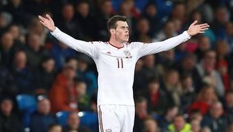 Bale jubelt für Wales.