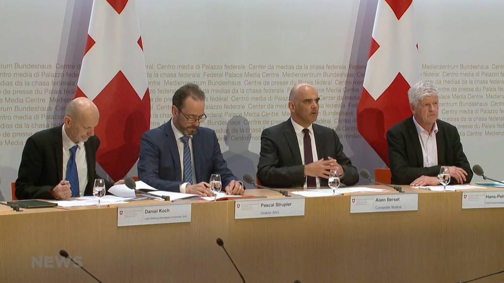 Coronavirus: Wie sich die Schweiz wappnet