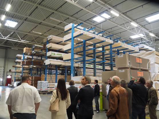 Die Firma Balteschwiler präsentierte sich im Rahmen der «Tage des Schweizer Holzes».