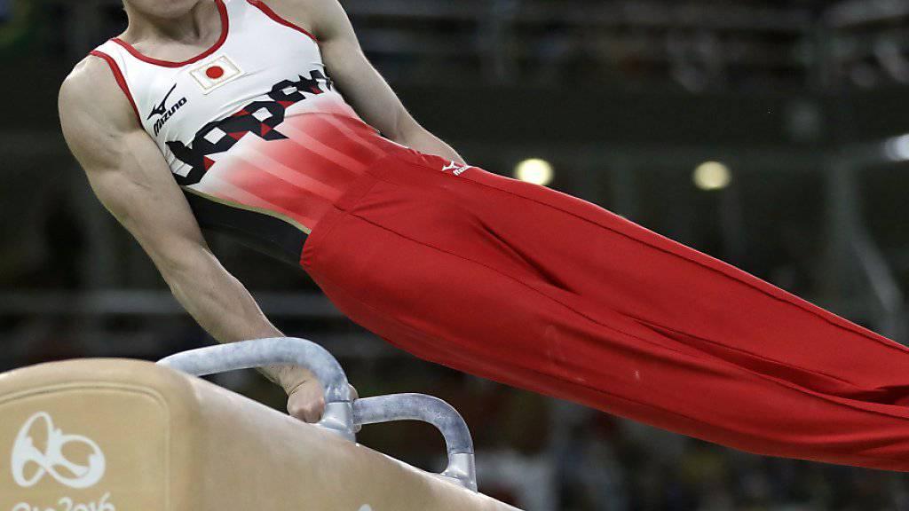 Kohei Uchimura kann sein Können am WM-Mehrkampf nicht zeigen