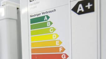 Konsumenten schätzen Umweltinformationen zu Produkten: Hier eine Energieetikette