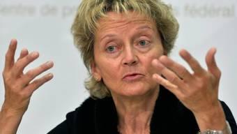 Erwägt stärkere Kapitalpuffer: Bundesrätin Widmer-Schlumpf (Archiv)