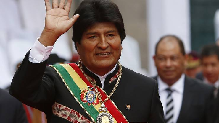 Der Präsident Boliviens, Evo Morales, kritisiert auf Twitter, dass die USA derzeit durch Südamerika reisen und überall für ihre Interessen lobbyieren. (Archivbild)