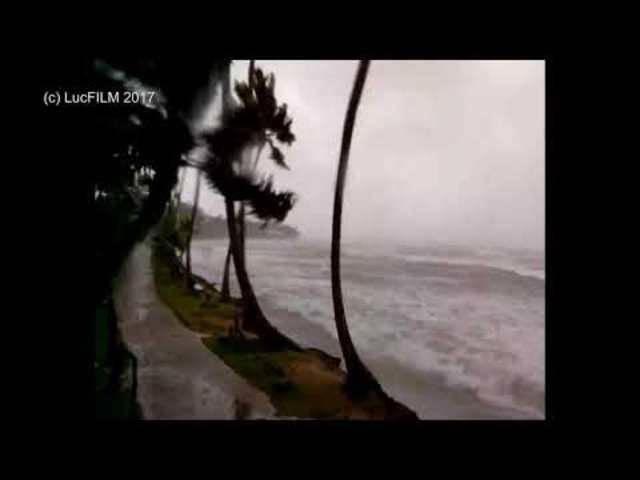 Irma trifft auf die Dominikanische Republik.