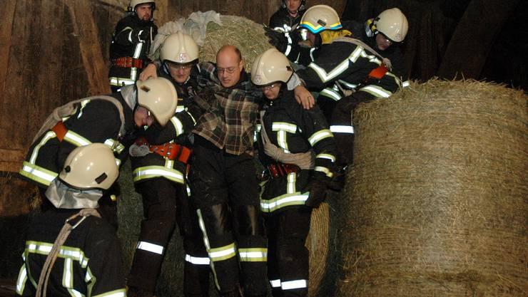 Feuerwehr probt Rettungseinsätze