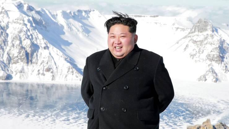 Erste Reaktion des nordkoreanischen Führers Kim Jong Un auf die Strafmassnahmen der UNO - die neuen Sanktionen seien eine Kriegserklärung.