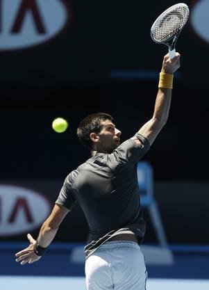 Möglicher Gegner im Final: Novak Djokovic