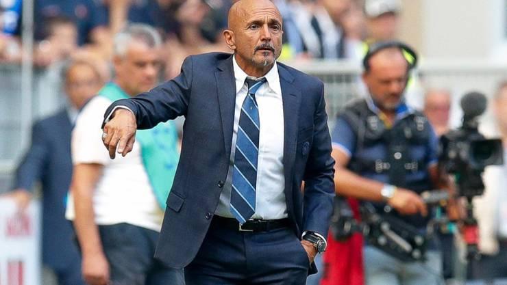 Inter-Coach Luciano Spalletti bleibt gegen Parma ratlos zurück