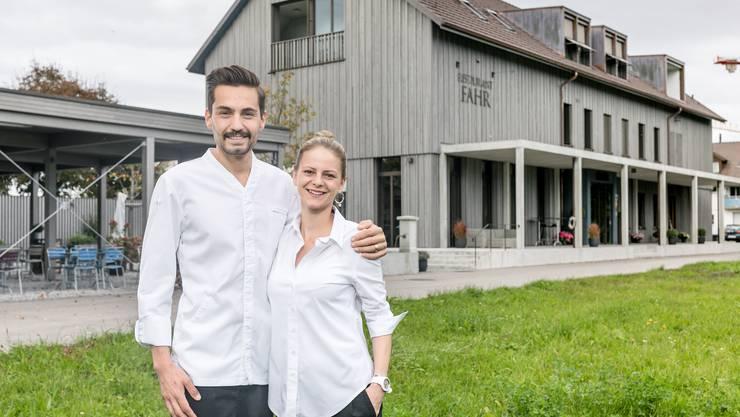 Manuel und Alexandra Steigmeier empfangen im Restaurant Fahr wieder Gäste.