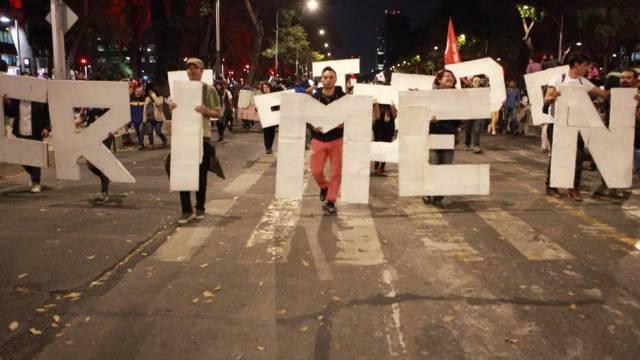Protest gegen mutmasslichen Mord an Studenten  (Archiv)