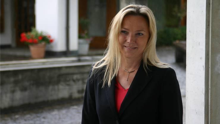 Die parteilose Janine Vannaz lässt durchsickern, dass sie Sympathien für die Christdemokraten hat.