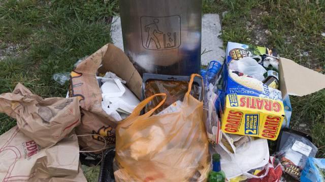 409 Kilo Abfall produzierten Aargauer und Aargauerinnen durchschnittlich im 2012. (Symbolbild)