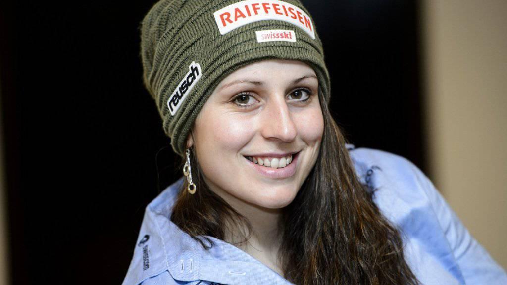 Marianne Abderhalden ist schwanger: Das erste Kind der Ex-Skifahrerin soll im Sommer zur Welt kommen (Archiv).