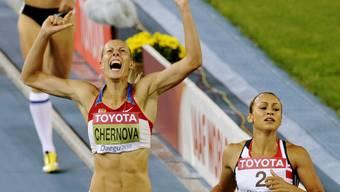 Die Russin Tatjana Tschernowa (links) wurde bereits zum dritten Mal in ihrer Karriere wegen Dopings gesperrt