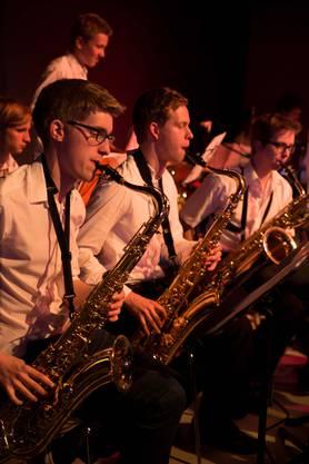 Swingende Saxophontöne gehören einfach zur Big Band