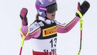 Viktoria Rebensburg war im ersten Abfahrtstraining in Aspen die Schnellste