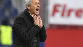 Lucien Favre ist mit Nice nicht mehr so gut unterwegs wie noch in der ersten Saisonhälfte