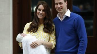Einmal mehr: William und Kate machen ihr Land glücklich (Archiv)