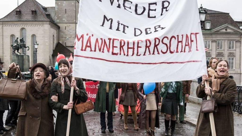 Petra Volpes «Die göttliche Ordnung» eröffnet am 19. Januar die Solothurner Filmtage und steht auch im Wettbewerb um den «Prix de Soleure», wie die Veranstalter am Dienstag bekanntgaben. (Handout)