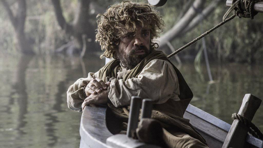 Peter Dinklage in einer Szene aus «Game of Thrones». Fans trauern schon jetzt: nur noch drei Staffeln, dann ist Schluss (Archiv)