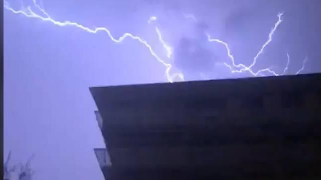 Fast 10'000 Blitze gemessen