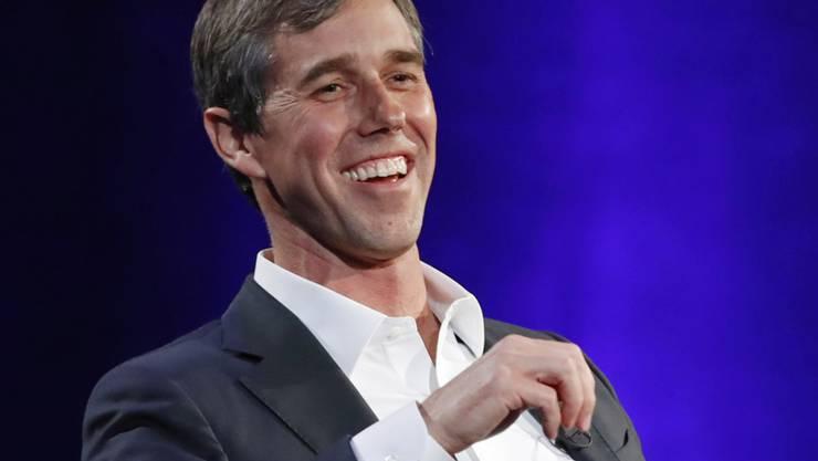 er texanische Politiker Beto O'Rourke will Kandidat der demokratischen Partei für die US-Präsidentschaftswahlen 2020 werden. (Archivbild)