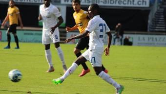 Gilles Yapi bei seinem Comeback für den FC Zürich.