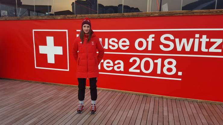 Ramona Härdi aus Möriken ist die einzige Schweizer Eisschnellläuferin. Wir wünschen viel Erfolg!
